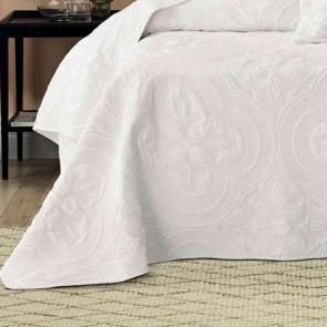 Edna Queen Bedspread Set Ivory by Bianca