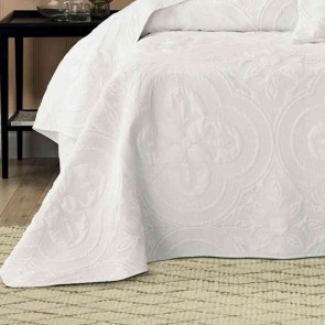 Edna King Bedspread Set Ivory by Bianca