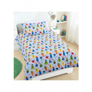 Nice to Meet You Single Quilt Cover Set by Happy Kids