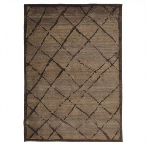 Egyptian Made Moroccan Rustic Design Rug by Unitex