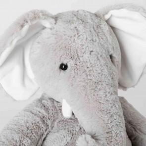 Grey Eliott Elephant Baby Toy by Sheridan