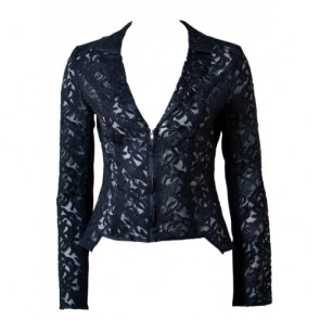 Lola Black Jacket by Elle Zeitoune