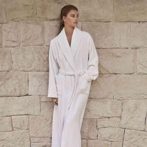 White Everglades Womens Robe by Sheridan