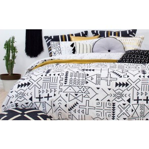 Farah King Quilt Cover Set by Bambury