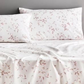 Fernbank Dusty Pink Flannelette Sheet Set by Sheridan