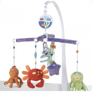 Fishy Friends Cot Mobile by Babyhood