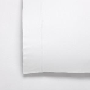 Fletcher White Flannelette Cotton Twill Weave 170gsm Sheet Set by Bianca