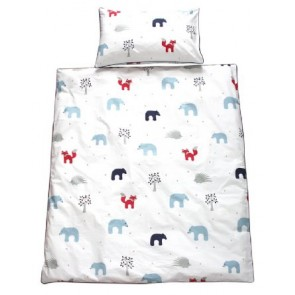 Forest Friends Quilt Cover Set by Jacob & Bonomi