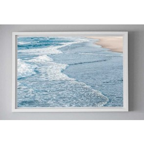 Framed Photography Bleached Beach Days by Escape To Paradise