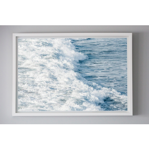 Framed Photography Shore Wash by Escape To Paradise