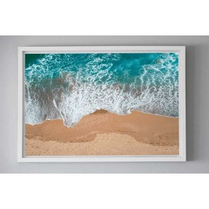 Framed Photography Surf Wash by Escape To Paradise
