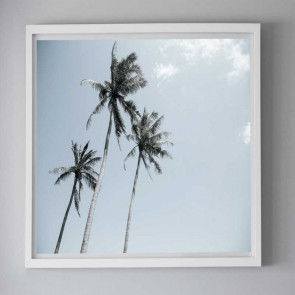 Framed Photography Three Palm Trees by Escape To Paradise