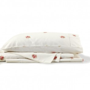 French Bouquet Cotton Flannelette Sheet Sets by Bianca