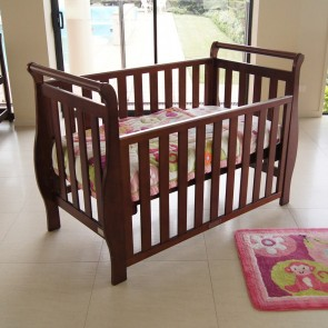 Georgia Sleigh 4 In 1 Cot by Babyhood