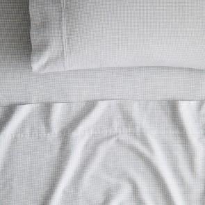 Grainger Antique White Flannelette Sheet Set by Sheridan