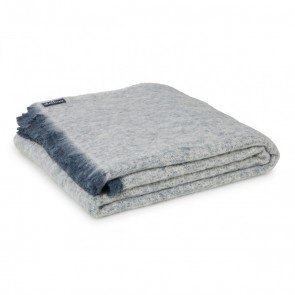 Granite Alpaca Throw Rug by St Albans