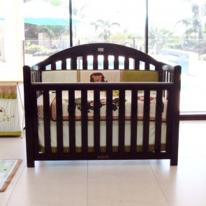 Grow With Me Classic 6 In 1 Cot English Oak by Babyhood