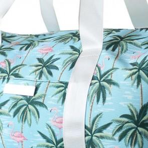 Gym Bag Blue Flamingo by Escape To Paradise