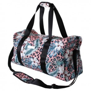 Gym Bag Pink Tropical Leopard by Escape To Paradise