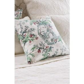Hanami Silver Square Cushion by Bianca Lorenn