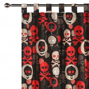 Skull Curtain by Happy Kids