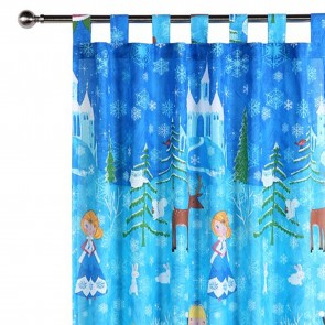Snow Princess Curtain by Happy Kids