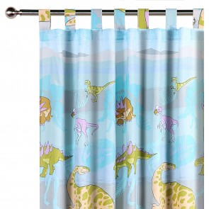 Dinosaur Curtain by Happy Kids
