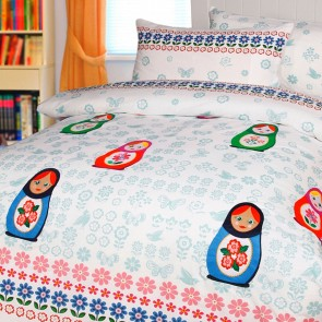 Chenka Quilt Cover Set by Happy Kids