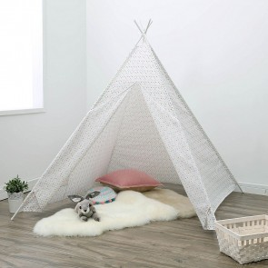 Multi Stars Teepee Tent by Happy Kids