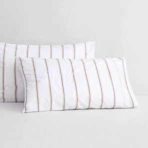 Hardy Stripe Fitted Sheet Set by Sheridan