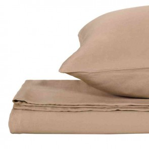 Hazelnut Natural Home 100% Bamboo Quilt Cover Set
