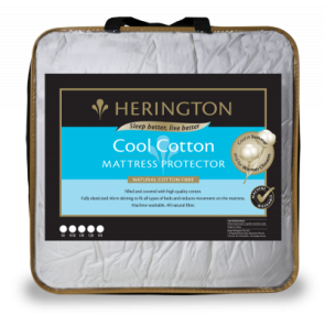 Cool Cotton Mattress Protector by Herington
