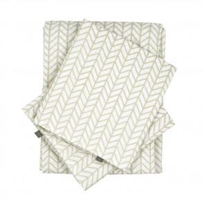 Herringbone Birch Sheet Set  by Scout