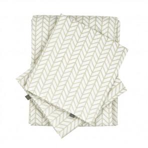 Herringbone Birch Queen Sheet Set  by Scout