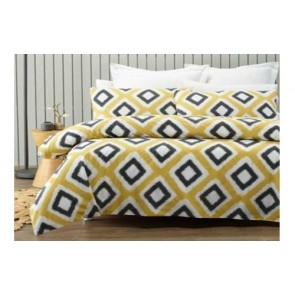 Ikat Queen Quilt Cover Set by Phase 2