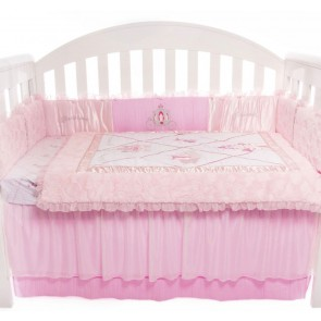 Ballerina Princess Baby Bedding by Amani bebe