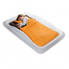 Indoor Toddler Travel Bed and Electric Pump by The Shrunks