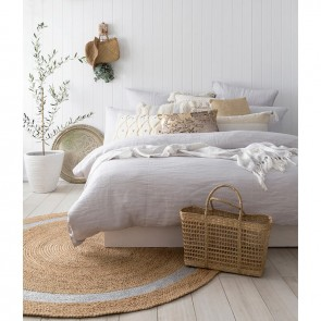 French Linen Quilt Cover Set by Bambury