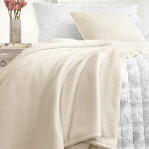 Ivory Lucia Blankets by Ardor Boudoir