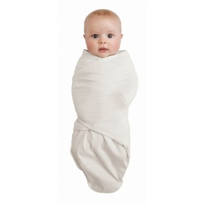 Ivory Cotton Swaddle Wrap by Baby Studio