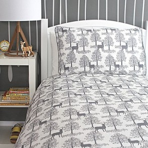 Nordic Elk Single Quilt Cover Set by Jacob & Bonomi