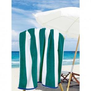 Jacquard Egyptian Cotton Multi-Stripe 100cm x 180cm Beach Towel