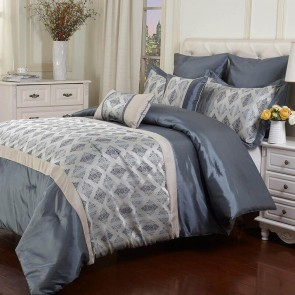 Jodi 7 Piece Comforter Set by Bambury