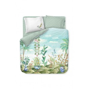 Jolie White Cotton Quilt Cover Set by Pip Studio