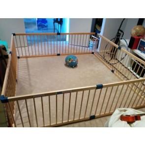 Kiddy Cots 3 In 1 Hexagonal Playpen by Babyhood