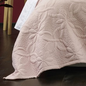 Krystal Coverlet Set Blush by Bianca
