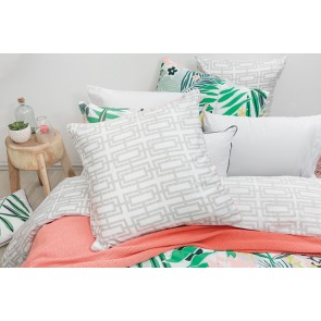 Lani European Pillowcase by Bambury
