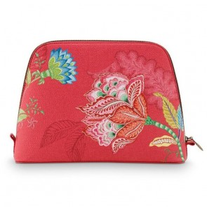 Large Jambo Flower Triangle Beauty Bag by Pip Studio