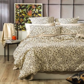 Leopard European Vintage Washed Printed Cotton Quilt Cover Set by Renee Taylor