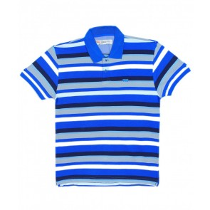 Levis Dandy Stripe Blue Polo Shirt